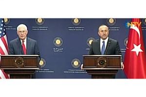 گفتگوی تلفنی تیلرسون و چاووشاوغلو درباره سوریه