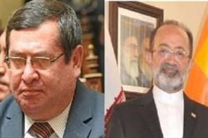 سفیر ایران با وزیر انرژی بولیوی دیدار و گفت و گو کرد