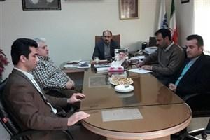 جلسه هیات رئیسه دانشگاه آزاد اسلامی واحد رودبار با مسئول پارک علم و فناوری شهرستان رودبار