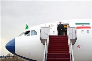 ورود حسن روحانی به خرم آباد