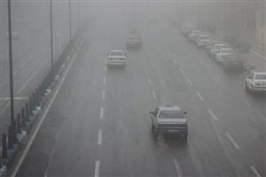 بارندگی و مهگرفتگی در جادههای شمال