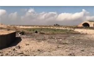 فرودگاه الشعیرات سوریه پس از حمله موشکی آمریکا