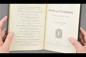 کشف اولین چاپ انگلیسی «جنایت و مکافات»