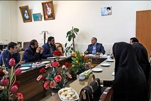 دیدار رئیس دانشگاه آزاد اسلامی سبزوار با جمعی از اصحاب رسانه شهرستان