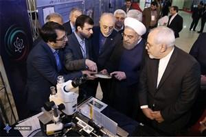 رونمایی دو دستاورد سازمان انرژی اتمی و سه مرکز مهم هسته ای با حضور رئیس جمهوری