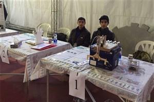 کسب مقام سوم توسط دانش آموزان سما تنکابن در چهارمین دوره مسابقات کشوری دست ساختهای فیزیک