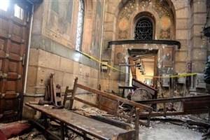 انفجار بمب در داخل کلیسایی در شهر طنطای مصر