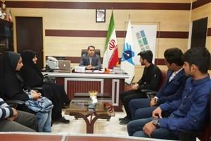 رئیس واحد جویبار:  دانشجویان بسیجی بازوان توانمند دانشگاه هستند