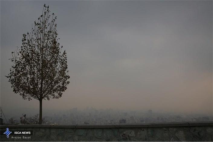 آلودگی هوای تهران ادامه دارد...