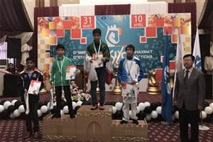 قهرمانی دانش آموز سما واحد رشت در مسابقات شطرنج نوجوانان آسیا