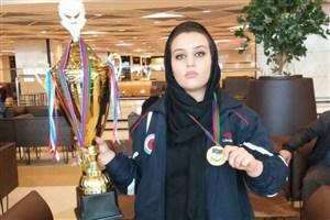 دانشجوی واحد الیگودرز در مسابقات کونگ فو توکی ما اوراسیا طلا گرفت