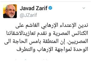 ظریف: منطقه نیازمند وحدت برای رویارویی با تروریسم و افراط گرایی است
