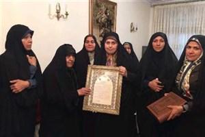 دیدار اعضای فراکسیون زنان مجلس با همسر آیت الله هاشمی رفسنجانی
