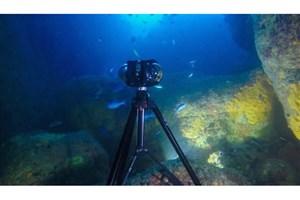 دوربین فیلم برداری 360 درجه زیر آب رونمایی شد