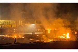 جزئیات آتشسوزی در کارخانه ایرانخودرو