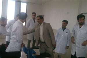 بازدید هیات رئیسه دانشگاه آزاد اسلامی واحد بروجرد از کلنیک دندانپزشکی