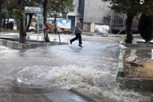 باد شدید و رگبار باران  در 9 استان کشور/معابر عمومی در ۵ استان درگیر آبگرفتگی