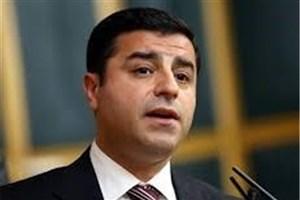 صلاح الدین دمیرتاش: مبارزات انتخاباتی در ترکیه ناعادلانه است