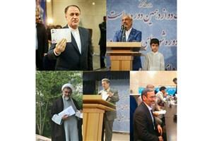 از مجلس دهمی ها چه کسانی برای رئیس جمهور شدن آمدند؟/جدول