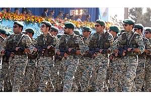 آغاز رژه یگان های نمونه ارتش جمهوری اسلامی ایران