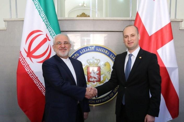 دیدار وزرای خارجه ایران و گرجستان