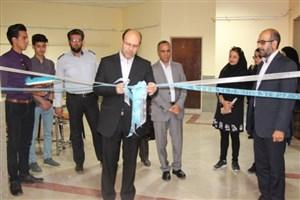 افتتاح نمایشگاه جمعی آثار هنرهای تجسمی دانشجویان واحد سیرجان