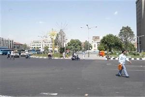 زیبا سازی خیابان امام خمینی (ره) با الهام از ابر و باران