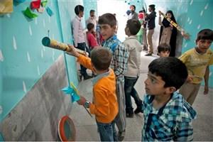 نقاشی آرزوهای بچههای بندرانزلی روی بادبان/ خشت اول  برای بچههای خرانق
