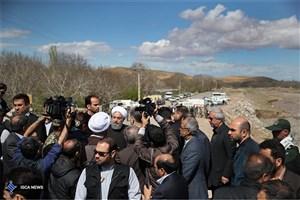 رییس جمهوری: دولت با همه توان در کنار مردم استان های سیل زده خواهد بود