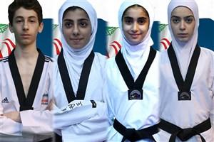 کسب 2 مدال طلا و 2 نقره دستاورد روز نخست نمایندگان تکواندو  ایران