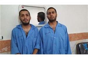 سارقان شیشهای زنان دستگیر شدند/ عکس