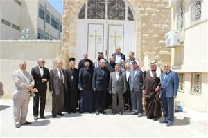 دیدار سفیر ایران در اردن با رهبران مسیحی رم ارتدوکس به مناسبت عید پاک
