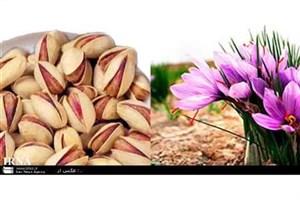 افزایش صادرات پسته و زعفران خراسان رضوی