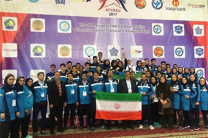 تیم های ملی نوجوانان تکواندو دختران و پسران