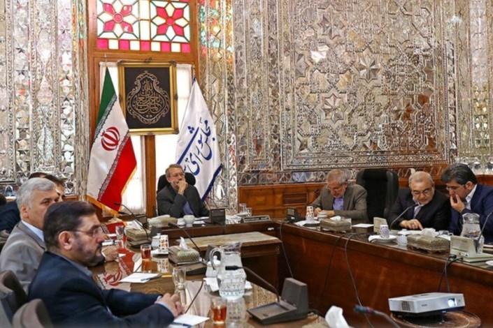 حضور لاریجانی در نشست ستاد اشتغال استان قم