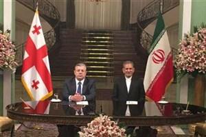 امضای پنج سند همکاری و یک بیانیه ی مشترک میان ایران و گرجستان