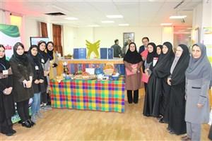 افتتاح ایستگاه و نمایشگاه سلامت به مناسبت گرامیداشت هفته سلامت در دانشگاه آزاد اسلامی واحد رامسر