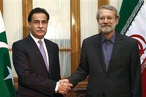 لاریجانی مطرح کرد:  تعیین سازوکار برای افزایش سطح تجارت میان ایران و پاکستان به ۵میلیارد دلار