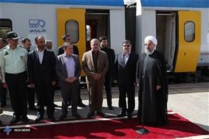 رئیس جمهوری در بدو ورود به قزوین: برای دولت یازدهم وفای به عهد از اهمیت بسیار زیادی برخوردار است