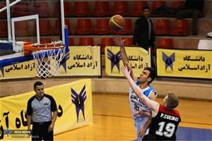 ضیافت نهار تیم بسکتبال دانشگاه آزاد اسلامی به میزبانی دکتر دادگان