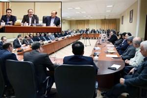 برگزاری شورای مدیران گروه های آموزشی و روسای دانشکده ها در واحد یادگار امام خمینی (ره) شهرری
