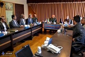 رییس دانشگاه آزاد اسلامی آذربایجان غربی با فرمانده قرارگاه حمزه سیدالشهدا دیدار کرد