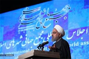 رئیس جمهوری: خوشحالیم که در ایران شهرها با رای مردم و توسط شوراهای شهر اداره می شود