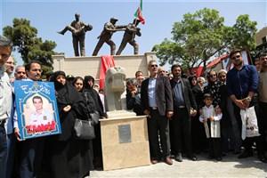 """تندیس""""شیر سنگی""""در میدان حسن آباد تهران نصب شد"""