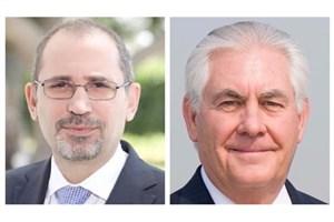 گفتگوی تلفنی وزرای خارجه اردن و آمریکا درباره سوریه