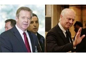 سوریه، موضوع دیدار امروز نماینده روسیه با دیمیستورا در ژنو