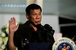 فیلیپین دیگر هیچ کمک مالی را از اتحادیه اروپا قبول نخواهد کرد