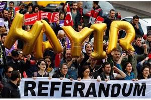 ادامه اعتراضات در ترکیه