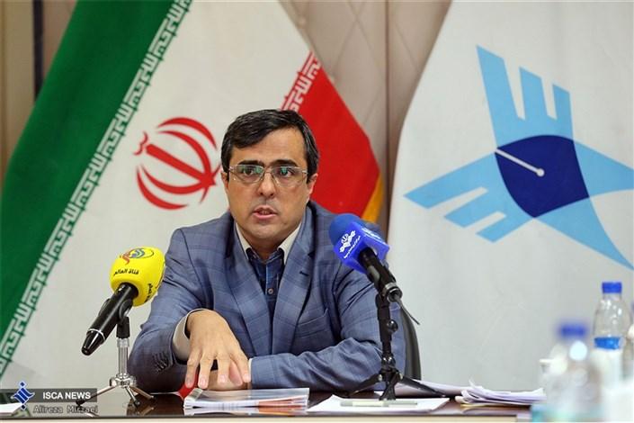 نشست خبری دکتر ابراهیمی مدیرکل امور بین الملل دانشگاه آزاد اسلامی