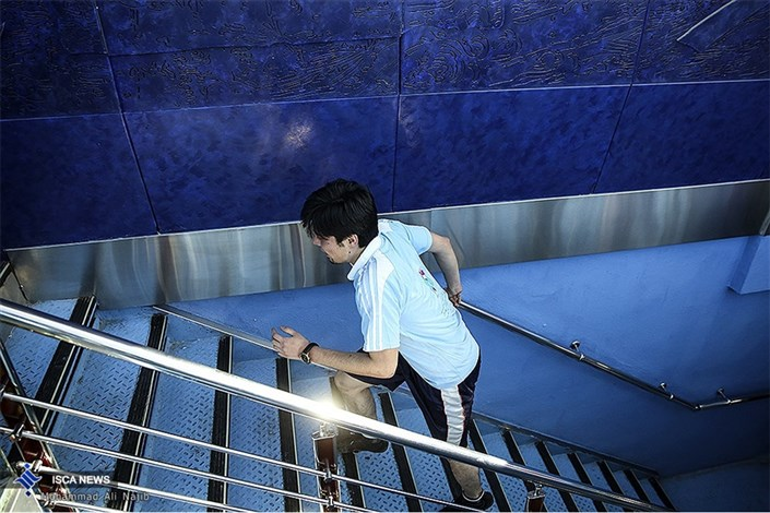اولین دوره مسابقات بین المللی پله نوردی در برج میلاد